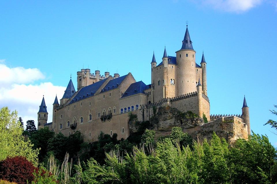 Alcázar of Segovia ရဲတိုက် (စပိန်)