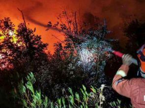 တရုတ်နိုင်ငံက တောမီးလောင်ကျွမ်းမှုမှာ မီးသတ်သမား ၁၈ ယောက်နဲ့ လမ်းပြတစ်ယောက် သေဆုံး